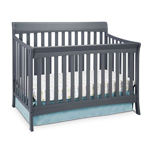 Avalon Convert Crib-Grey