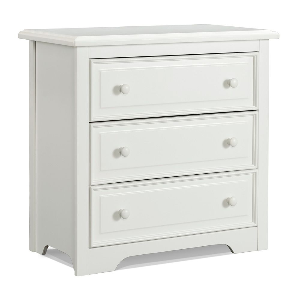 Graco Brooklyn 3 Drawer - White
