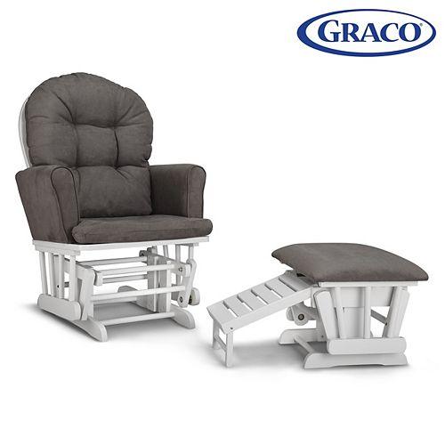 La chaise berçante et tabouret Parker