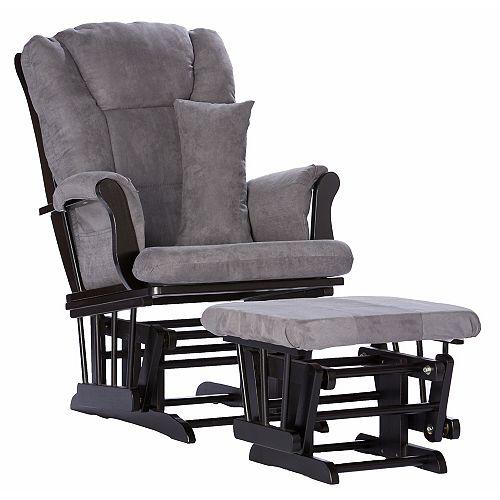 La chaise berçante et tabouret SC