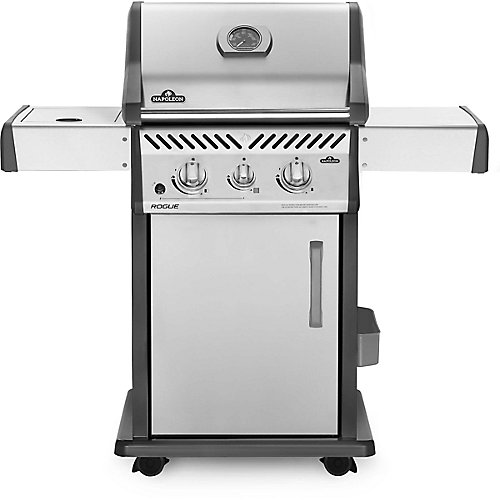 Rogue 365 Propane Gas Grill with Infrared Side Burner