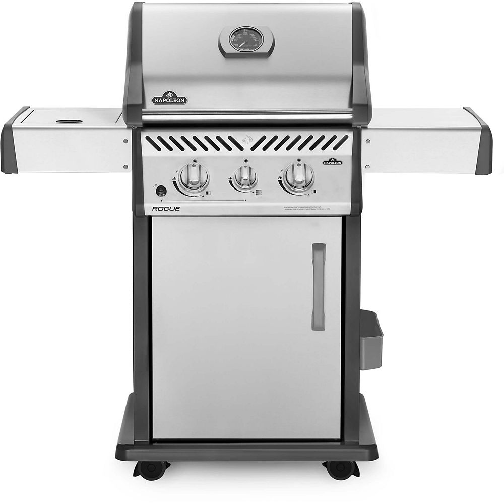 Napoleon Rogue 365 Propane Gas Grill with Infrared Side Burner