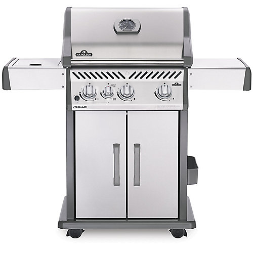 Rogue 425 Propane Gas Grill with Infrared Side Burner