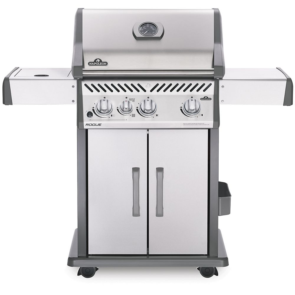 Napoleon Rogue 425 Propane Gas Grill with Infrared Side Burner