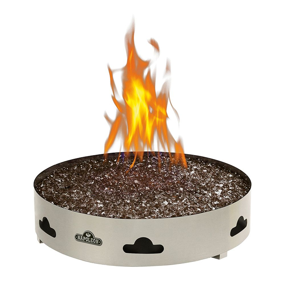 Napoleon Patioflame Propane Fire Pit with Glass