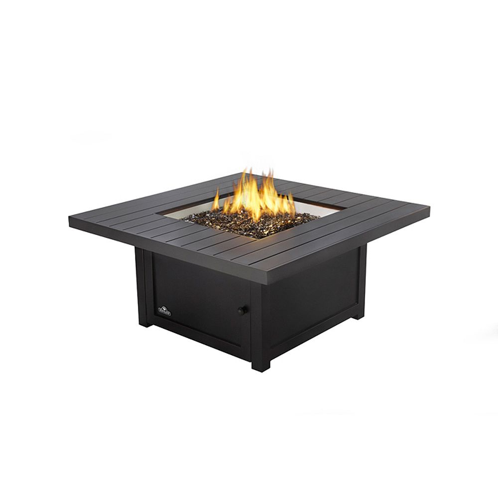 Napoleon St Tropez Square Patio Flame Table The Home Depot Canada
