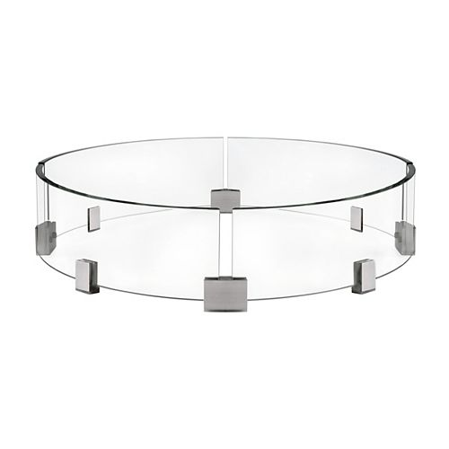 Patioflame Round Windscreen for Fire Pit Tables