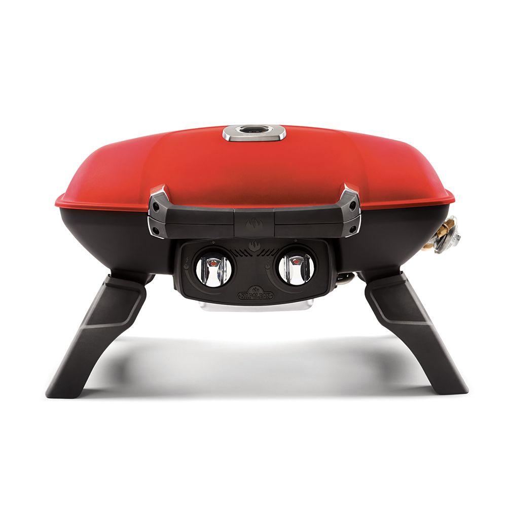 Napoleon PRO TravelQ Portable BBQ in Red