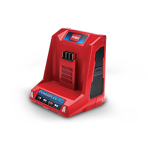 PowerPlex 40V Max Li-Ion Quick Battery Charger