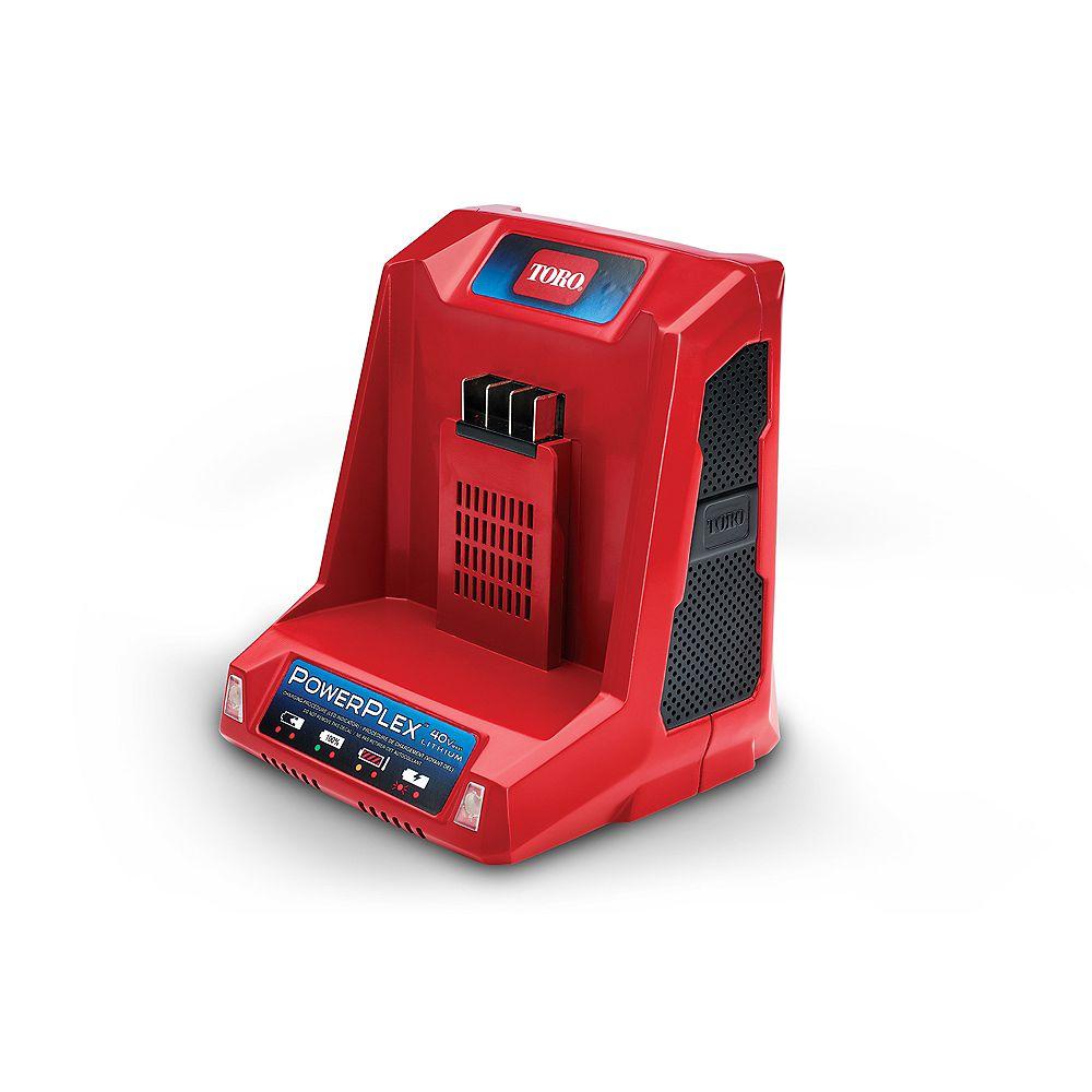 Toro PowerPlex 40V Max Li-Ion Quick Battery Charger