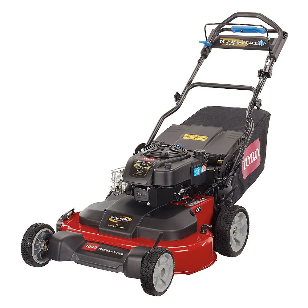 Toro Timemaster 30 Inch Briggs Stratton Personal Pace Self Propelled Walk Behind Gas Law The Home Depot Canada