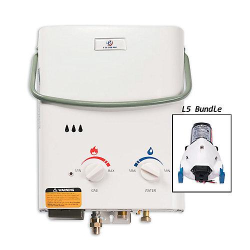 Kit chauffe-eau instantané Eccotemp L5 (pompe 12v)