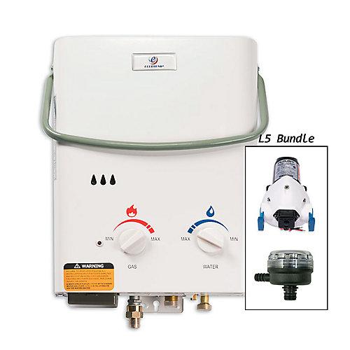 Kit chauffe-eau instantané Eccotemp L5 (pompe 12v & filtre)