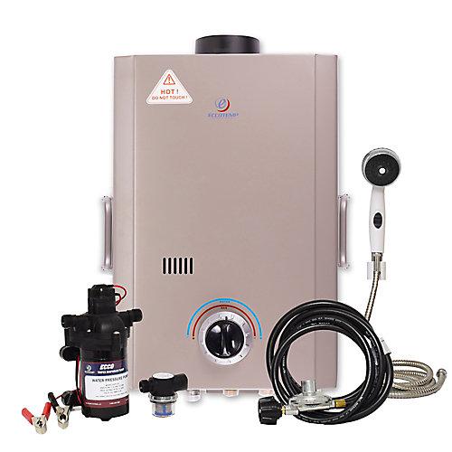 Kit chauffe-eau instantané Eccotemp L7 (pompe 12v & filtre)