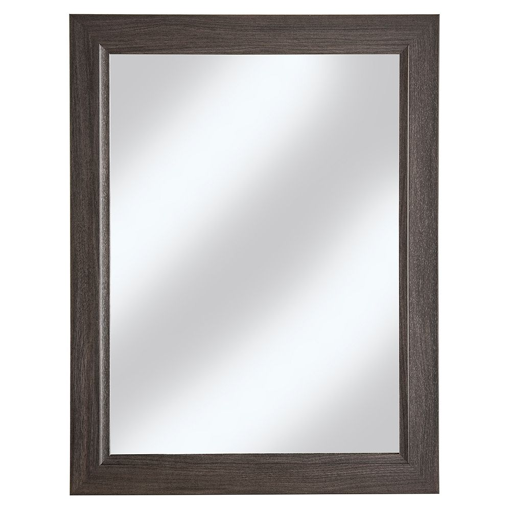 Cutler Kitchen & Bath 23 Inch x30 Inch  Karoo Ash Bevel Shaker Mirror