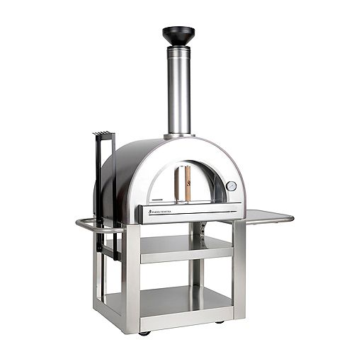 Pronto 500 20-inch x 24-inch Wood Burning Oven in Copper