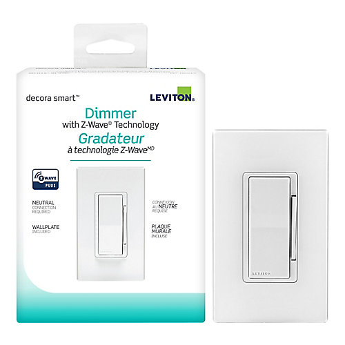 600W Decora Smart with Z-Wave Plus Technology Dimmer