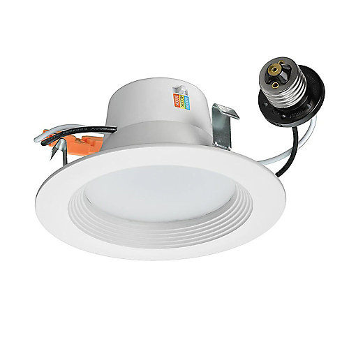 4 inch LED Recessed Trim Downlight 625 Lumens Dimmable 3000K 4000K 5000K