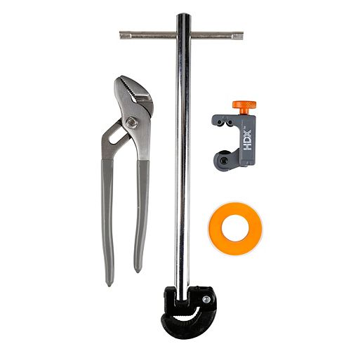4-Piece Plumbing Tool Set