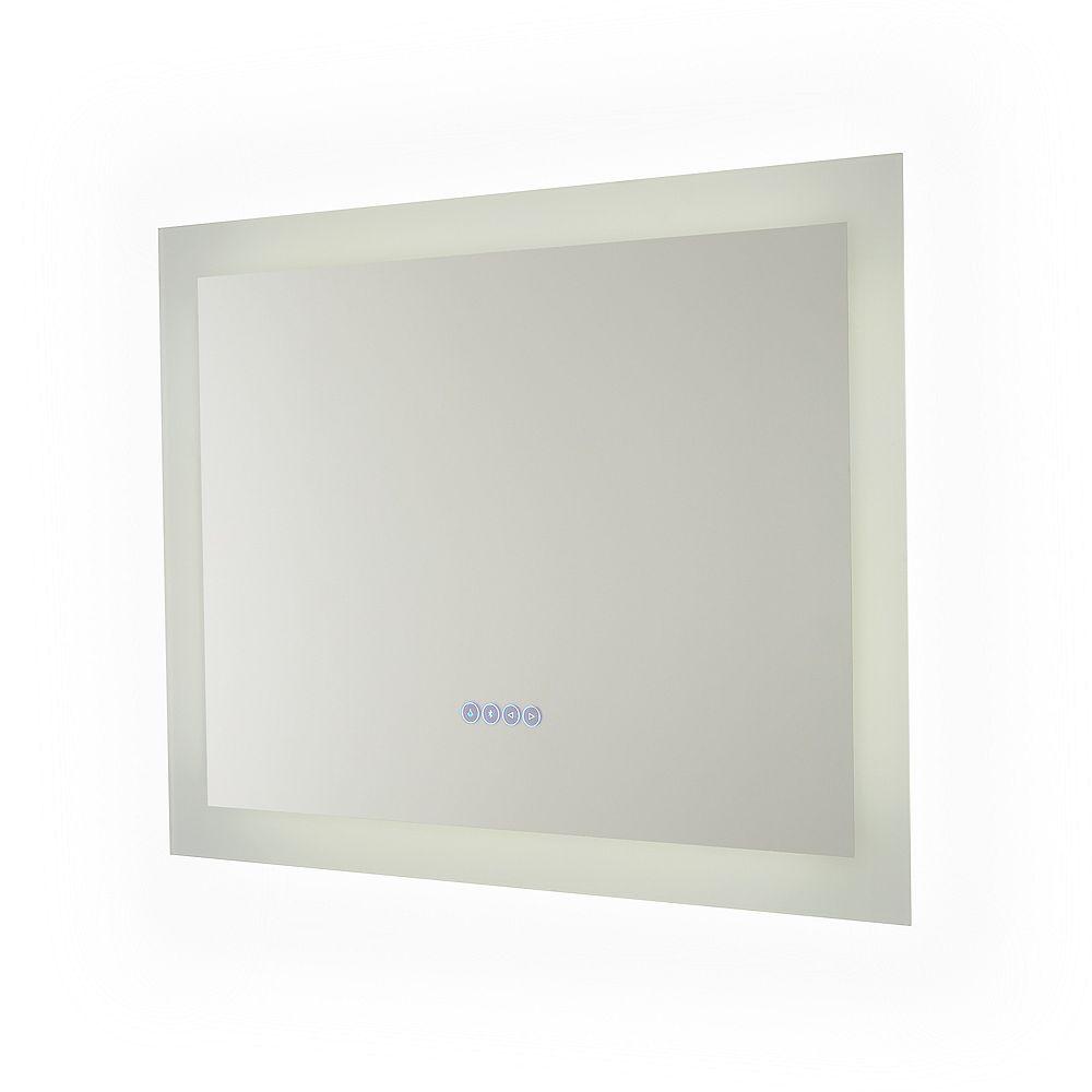 Renin Melody Hardwired Bluetooth LED Illuminated Mirror for Bathroom or Vanity (32 inch x 24 inch)