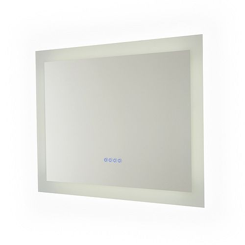 Melody Hardwired Bluetooth LED Illuminated Mirror for Bathroom or Vanity (32 inch x 24 inch)