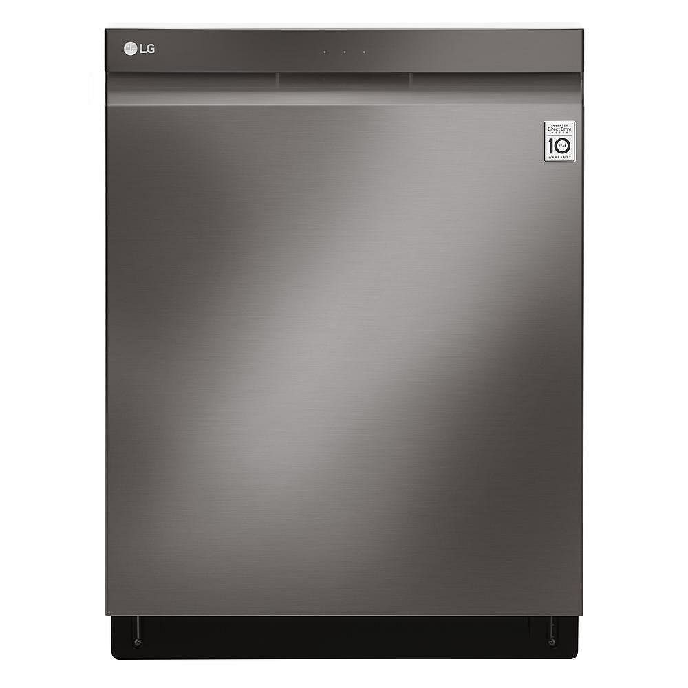 LG Electronics Top Control Dishwasher with 3rd Rack in Smudge Resistant Black Stainless Steel with Stainless Steel Tub, 44 dBA - ENERGY STAR®