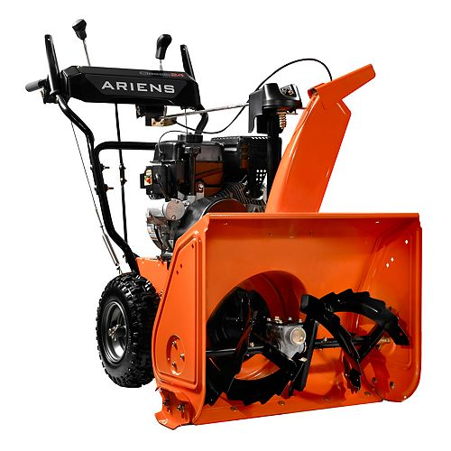 Classic 24-Inch, 2-Stage, 120V Electric Start Snowblower with 208cc Ariens AX Engine