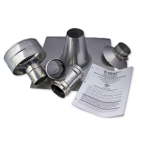 Z-Vent 4 inch Vertical Vent Kit