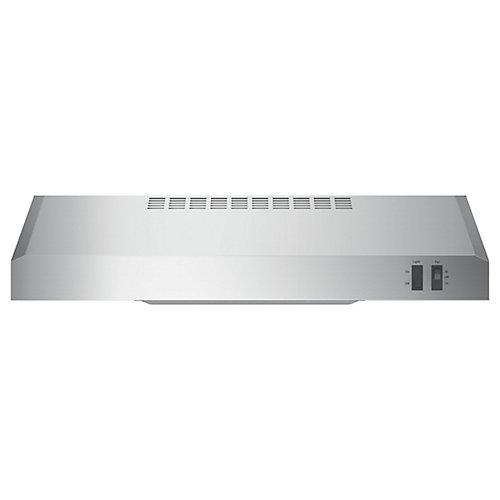 24-inch W Under the Cabinet Vent Range Hood in Stainless Steel