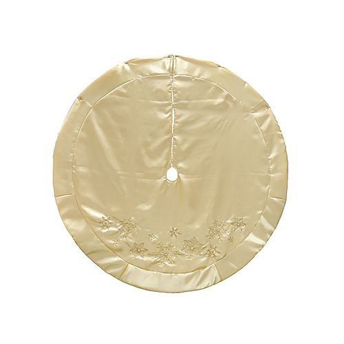 60-inch Champagne Tree Skirt