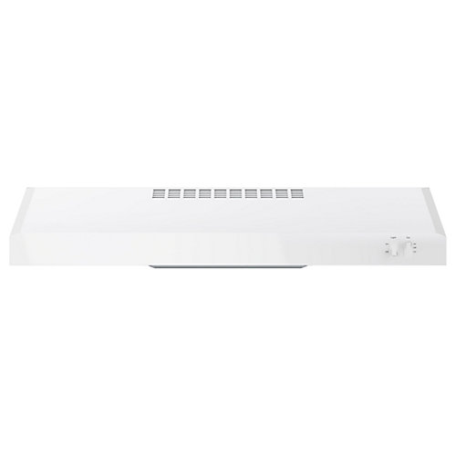 30-inch W Under the Cabinet Vent Range Hood in White