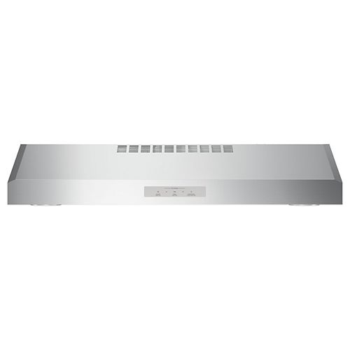 30-Inch W Range Hood in Stainless Steel