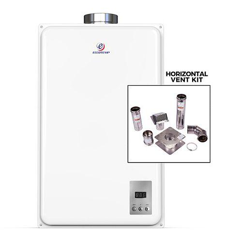 """Chauffe-eau instantané propane Eccotemp 45HI-LP (incl. kit de ventilation horizontal Z-Flex 4"""")"""