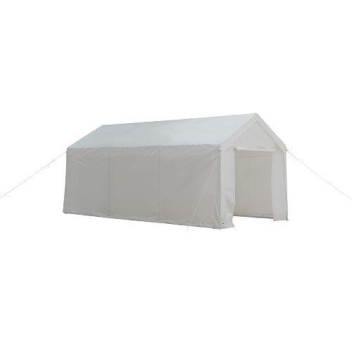 10 Feetx20 Feet(3x6m) 8-Piece Leg Carport Canopy