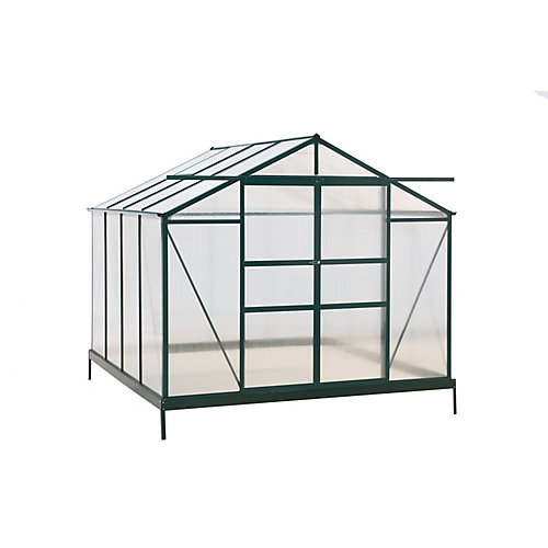 Aluminum Frame Greenhouse and Polycarbonate Sheet