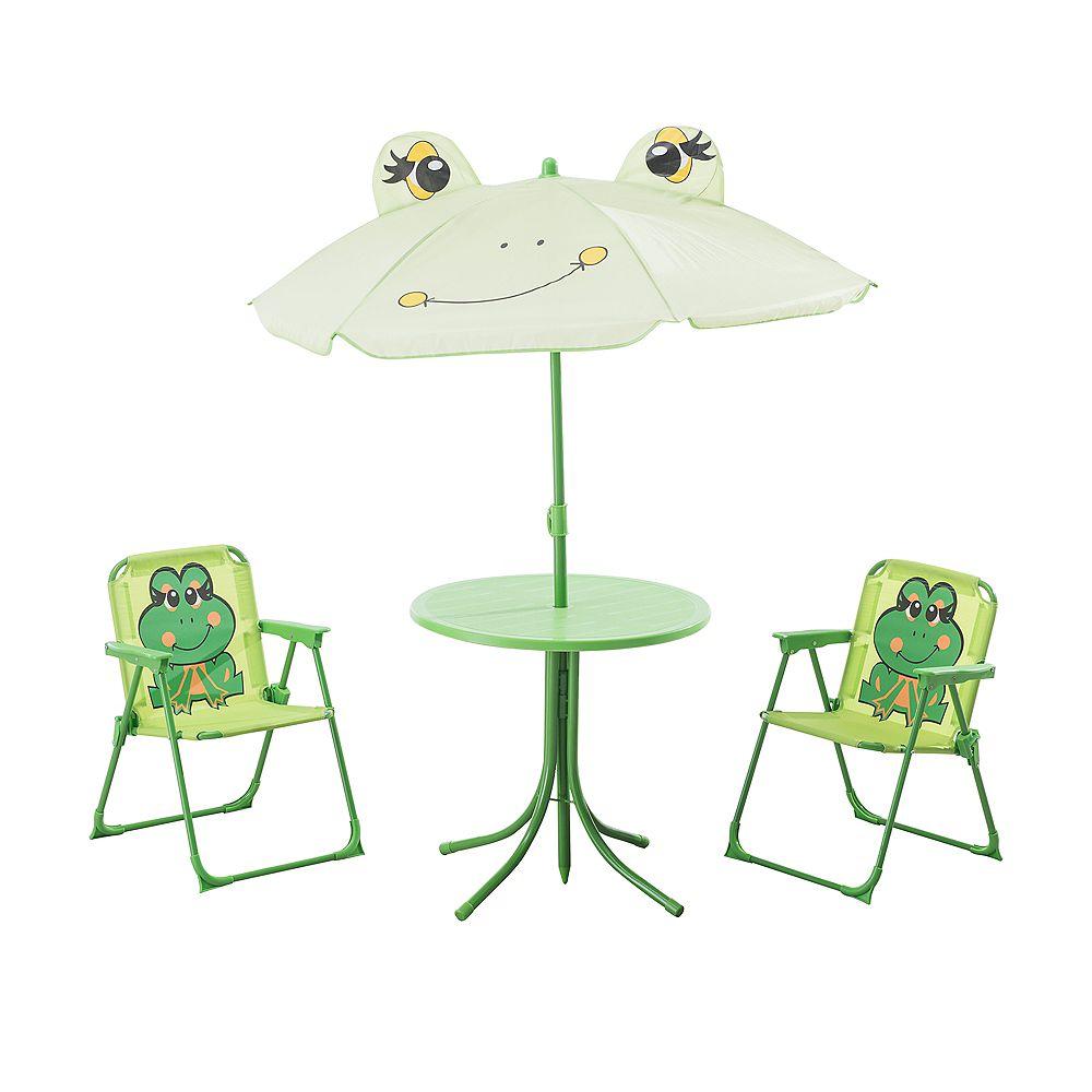 Sunjoy Happy Frog Bench Patio Furniture