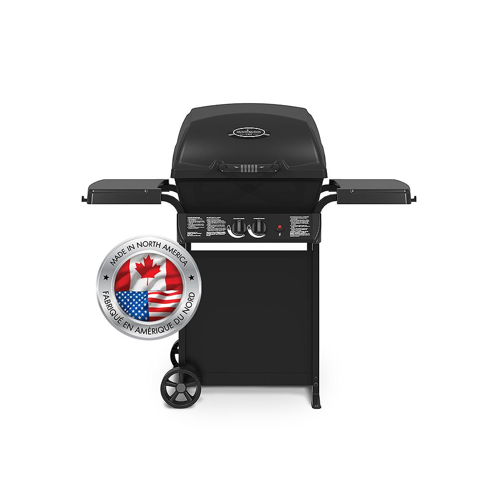 Huntington Cast 3200 2-Burner Propane BBQ
