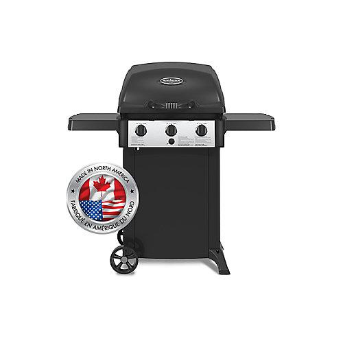 3-Burner Cast Aluminum Propane BBQ