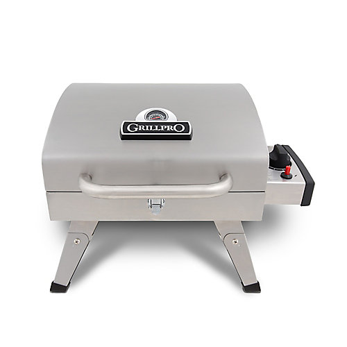 Table Top Portable Propane BBQ in Stainless Steel