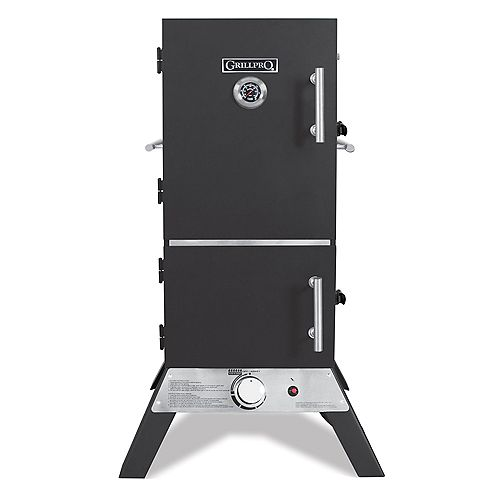 33-inch Vertical Propane Cabinet Smoker