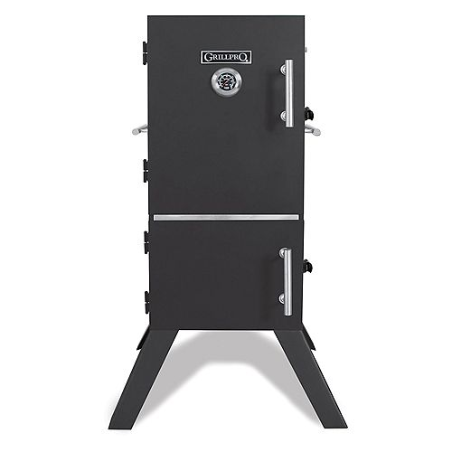 33-inch Vertical Charcoal Cabinet Smoker