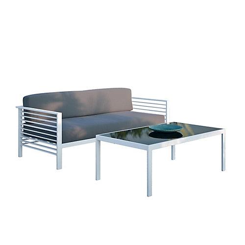 Ensemble pour la terrasse Nantucket avec table à café et canapé