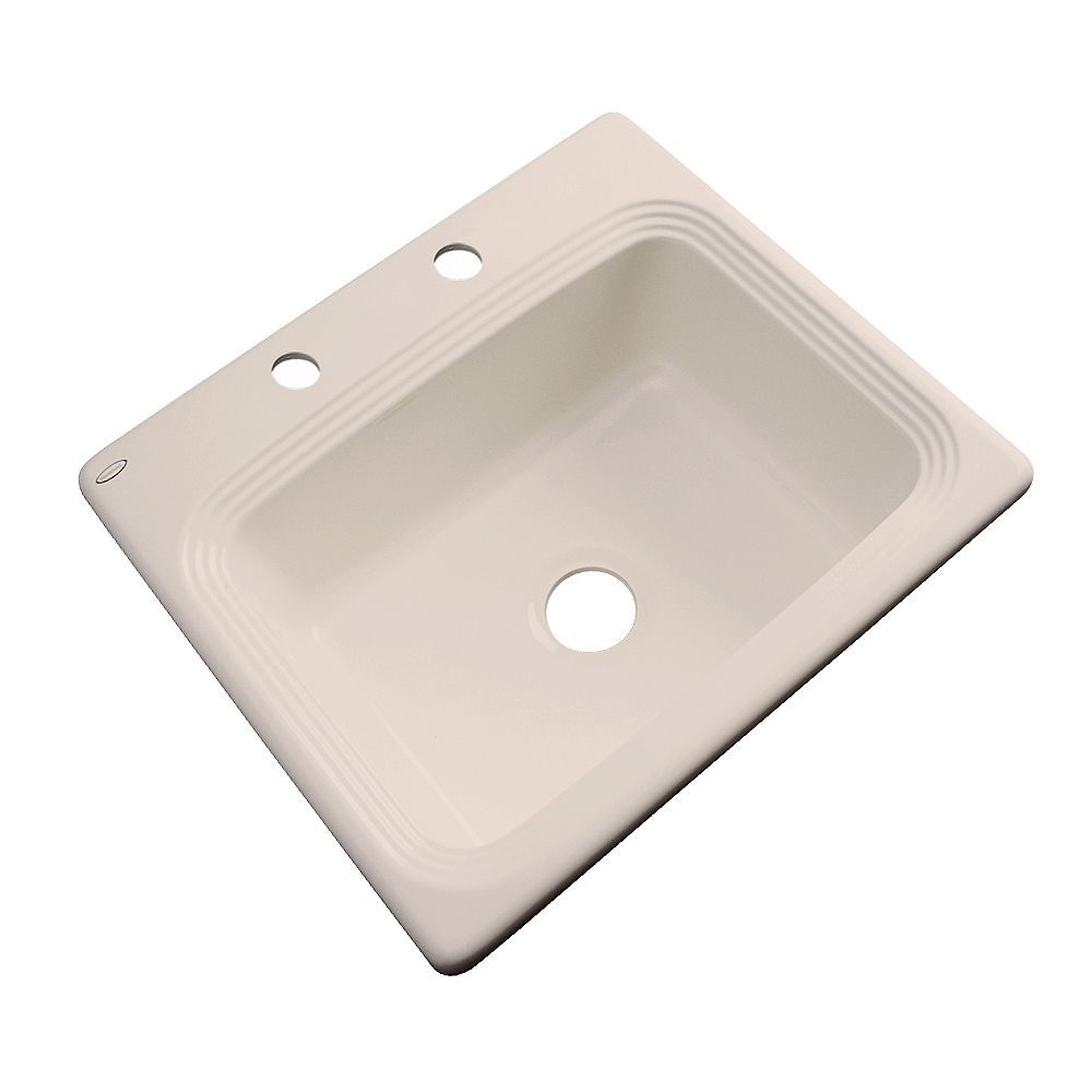 Thermocast Rochester 25 Inch Single Bowl Candlelyght Kitchen Sink