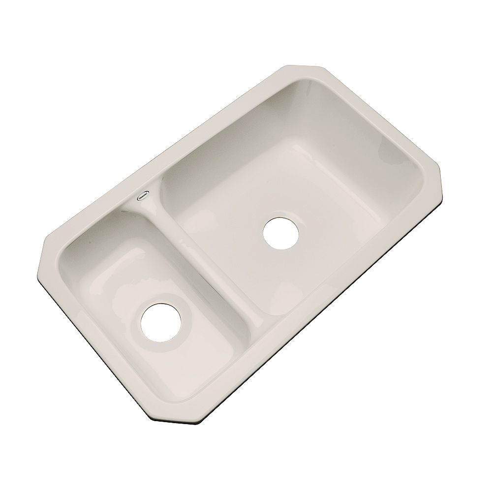 Thermocast Wyndham Undermount Double Bowl Shell Kitchen Sink