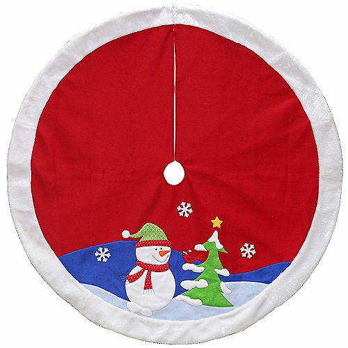 48-inch Dia. Christmas Tree Skirt (4 Styles Available)