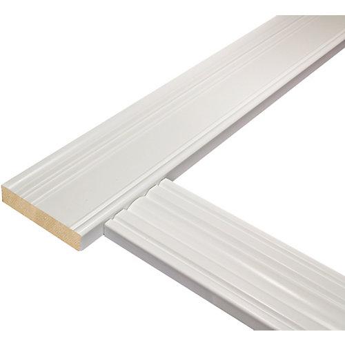 Ensemble de cadrage de porte victorienne pour porte mesurant jusqu'à 36 po x 80 po