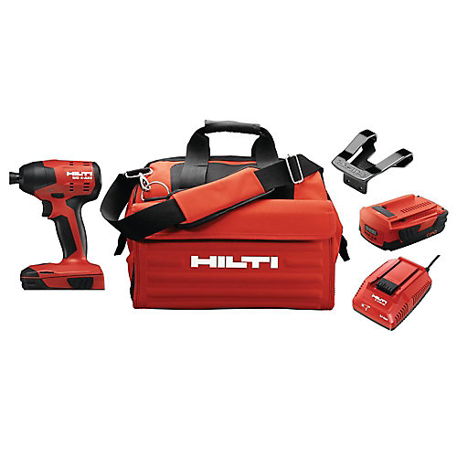 22-Volt Lithium-Ion 1/4 Inch Hex Cordless SID 4 Compact Impact Driver