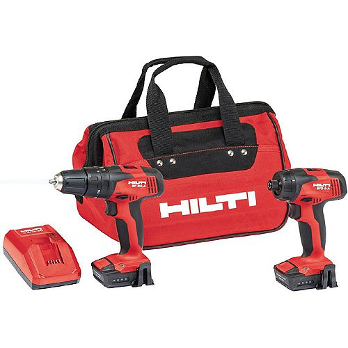 12-Volt Lithium-Ion Cordless Rotary Hammer Drill/Drill Driver Combo Kit (2-Tool)