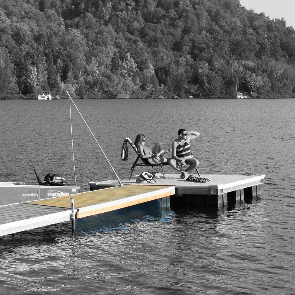 Multinautic Semi-Floating Wood Dock Kit