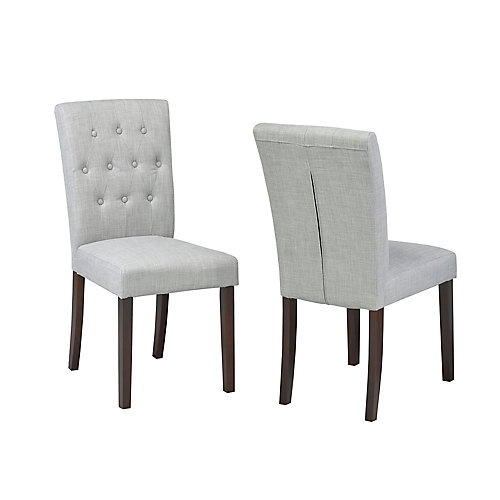 Side Chair, (Set of 2) Grey